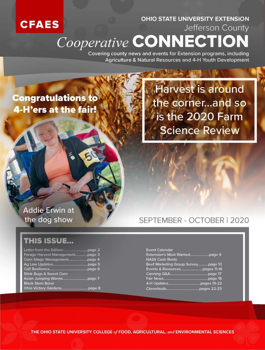 2020 September October Newsletter Cover - Access Newsletter