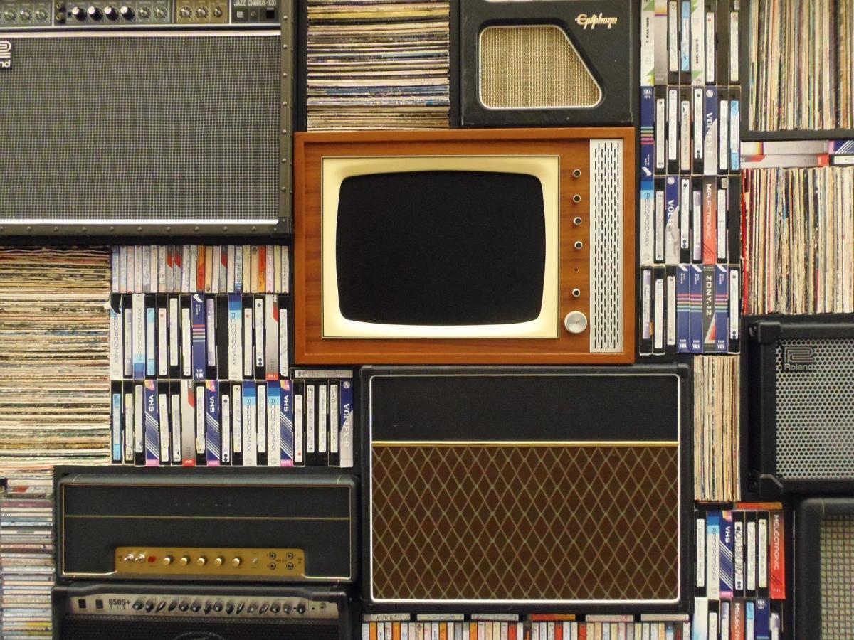 Television with Videos - Decorative Image